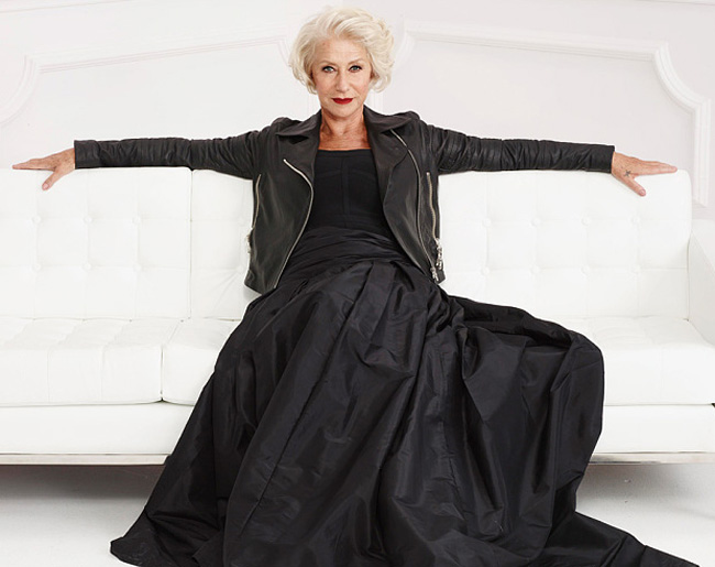 helen-mirren-olay-advert-wearing-edgy-leather-jacket-red-lips_700