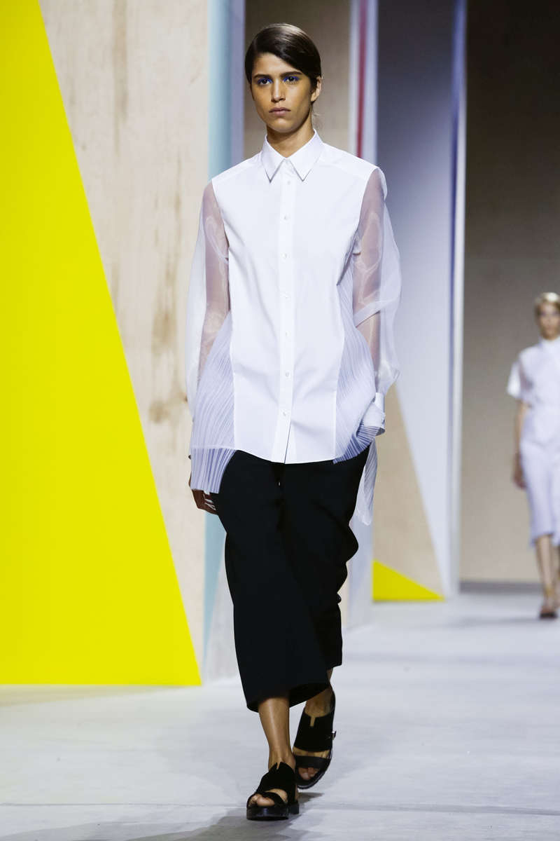 Hugo Boss Women Fashion Show, Ready to Wear Collection Spring Summer 2016 in New York